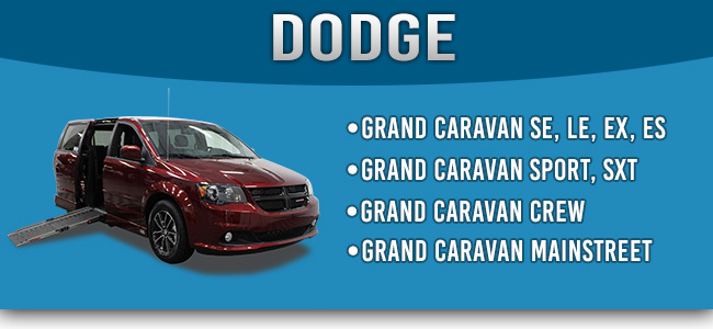 Dodge Grand Caravan Handicap Accessible Wheelchair Van Conversions
