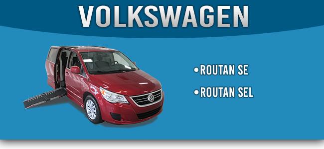 Volkswagen Vans converted to wheelchair vans by AMS Vans