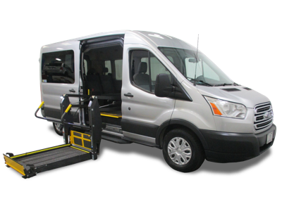 Ford Transit Wheelchair Van Side Entry