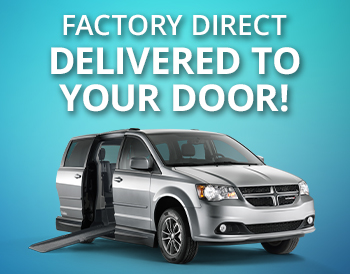 Factory Direct Side & Rear Entry Accessible Vans