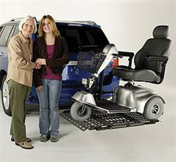 Bruno Out-Sider Meridian Lift for Power Chairs and Scooters