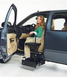 Bruno Stow-Away TAS Seat for Tall Vehicle Transfers