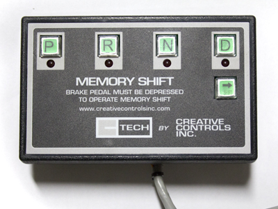 CCI Secondary Switches and Controls