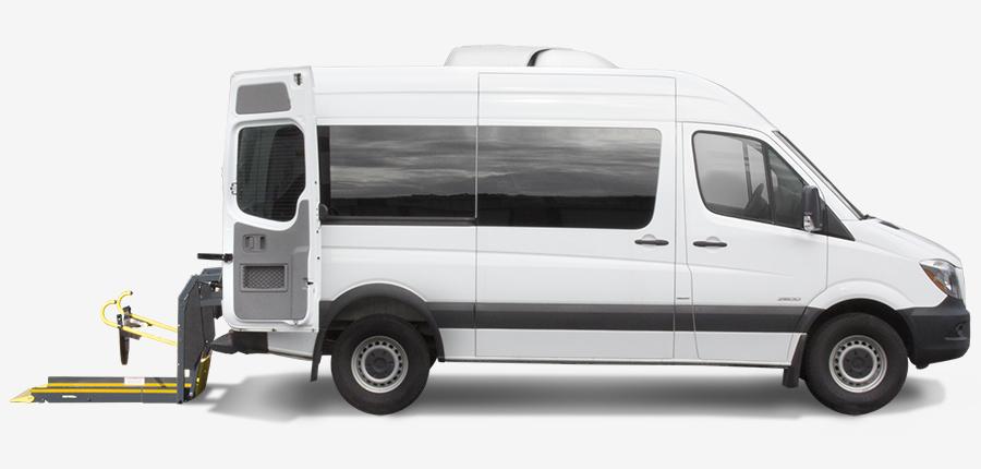 8c7a371629 Mercedes-Benz Sprinter - Rear Entry Lift Conversion
