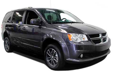Dodge Grand Caravan Side or Rear Entry Conversion