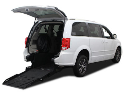 Dodge Grand Caravan Rear Entry Short Cut Conversion