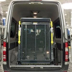 Mercedes-Benz Sprinter - Rear Entry Lift Conversion