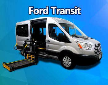 Ford Transit Wheelchair Lift Van