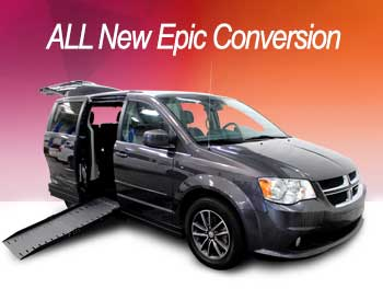 Side Entry Accessible Van Epic