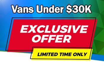 Vans Under $30K