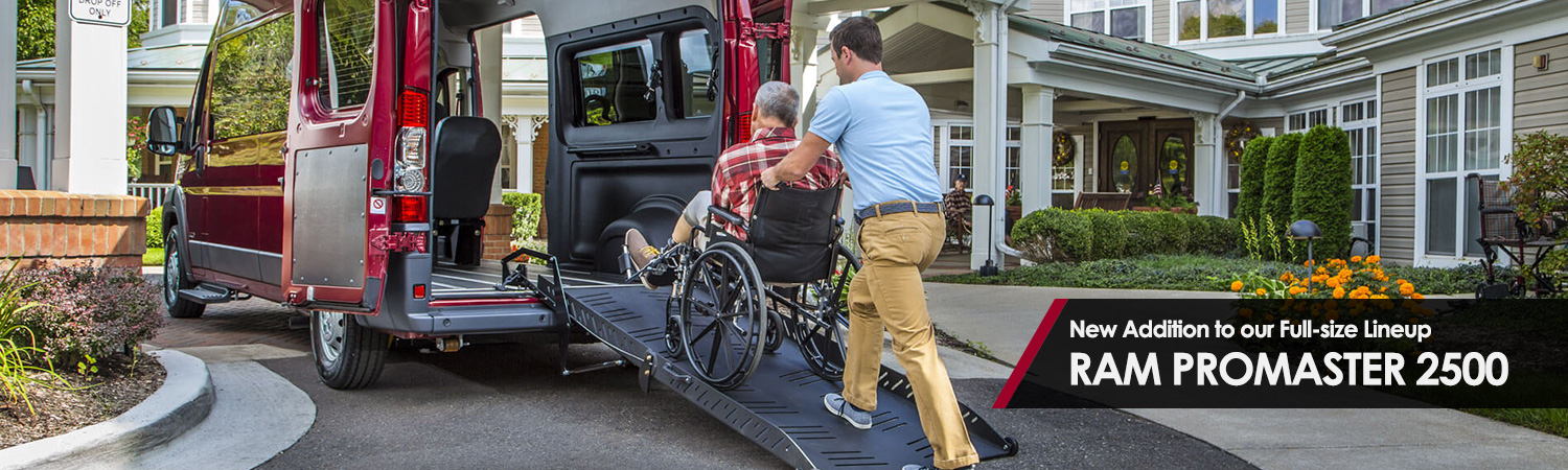 Full-size Accessible Vans