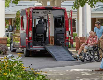 ProMaster Full-size Accessible Vans