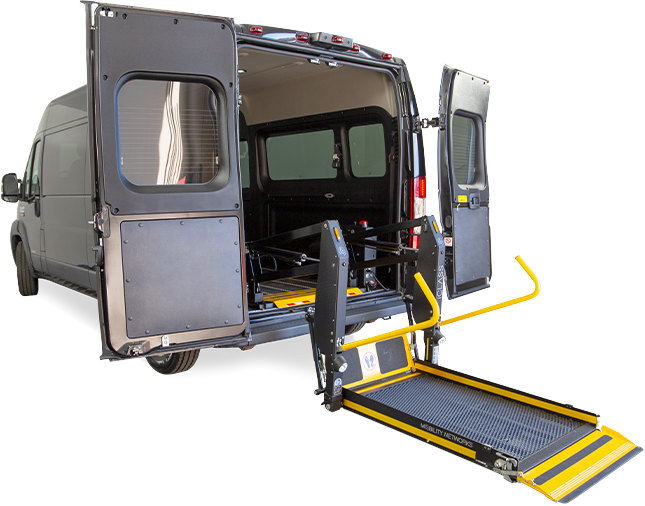 Rear Lift Vehicle