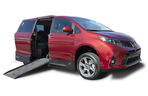 Toyota Sienna Side or Rear Entry Conversion