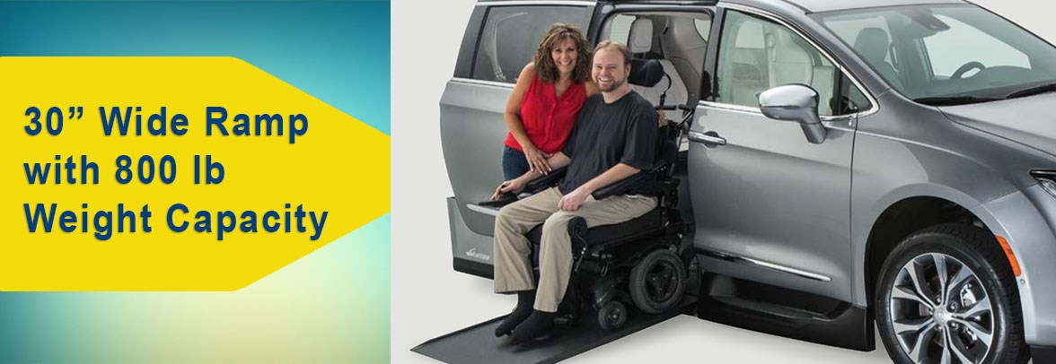 Wide Side Entry Wheelchair Vehicle