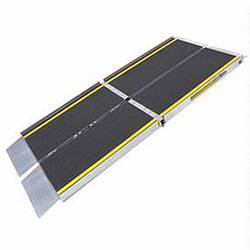 handicap ramps for minivans. multi-fold ramps feature width and length-wise folding for ease of transportation in wheelchair vans, minivans, cars, handicap minivans a