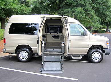 Ford E150 Accessible Van