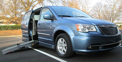 Choosing a side entry wheelchair van
