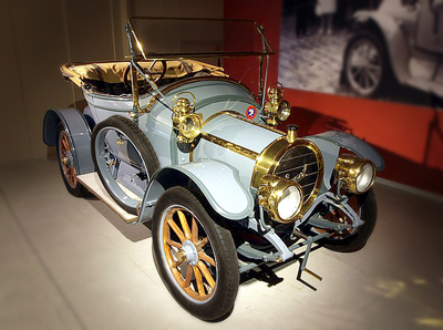 Antique car in National Automobile Museum