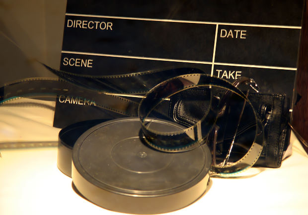 Film Reels and Clap Boards