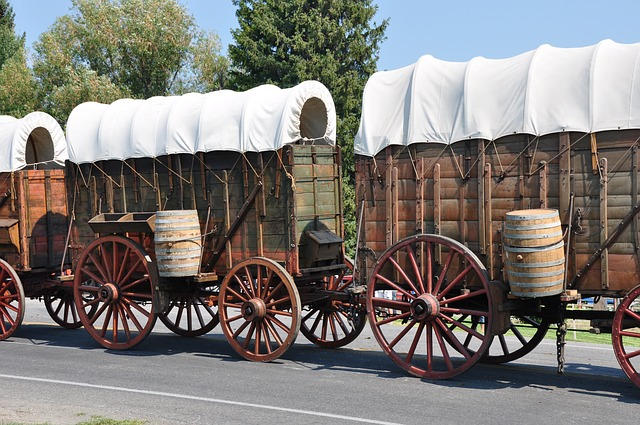 Pioneer Covered Wagons