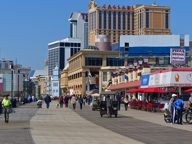 The Boardwalk in Atlantic City