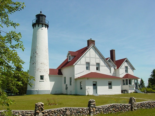 Upper Peninsula Lighthouse