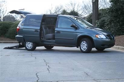 Chrysler Wheelchair Van With AMS Legend Conversion