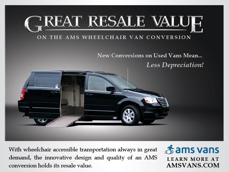 Great Resale Value on AMS Vans