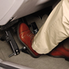 Left Foot Accelerator Guard for Hand Control Systems in adapted van