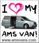AMS Vans - I love my wheelchair van