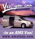 Yes, you can - in an AMS Van #1