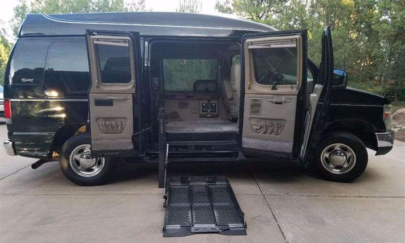 2008 ford e 150 wheelchair van for sale by owner ams vans for 2 story wheelchair lift