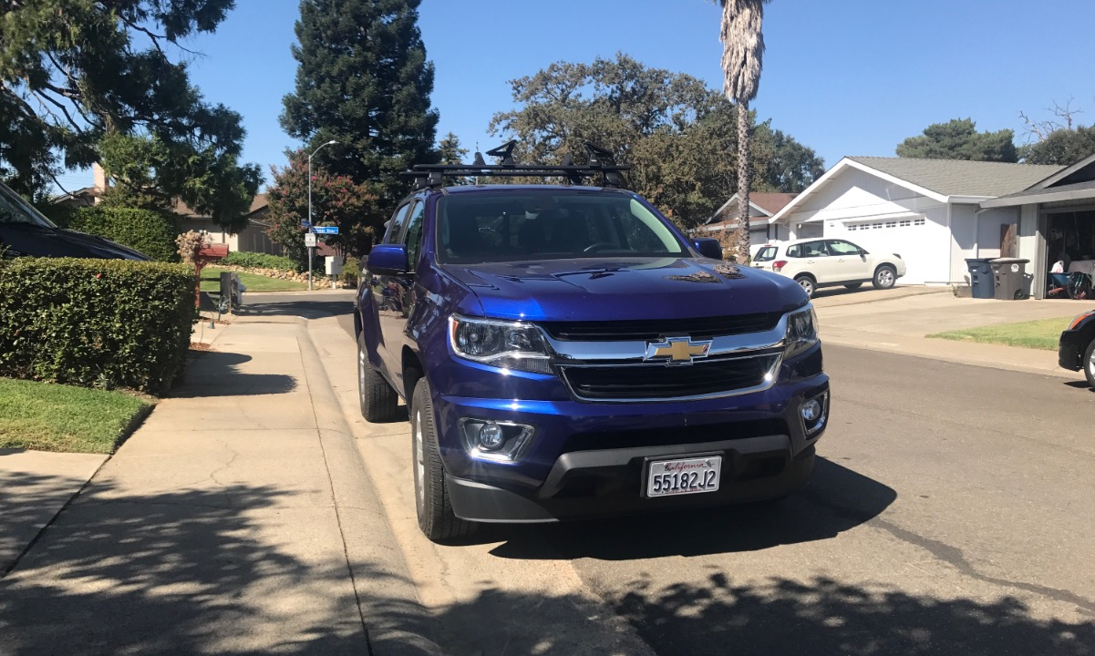 Used 2017 Chevy Colorado LT Wheelchair Van