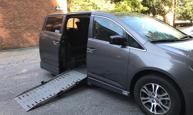 2011 Honda Odyssey  Wheelchair Van For Sale