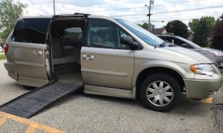 2006 Chrysler Town & Country Wheelchair Van For Sale