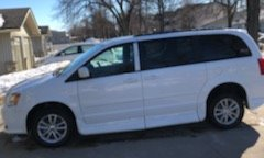 Used 2015 Dodge grand caravan  Wheelchair Van