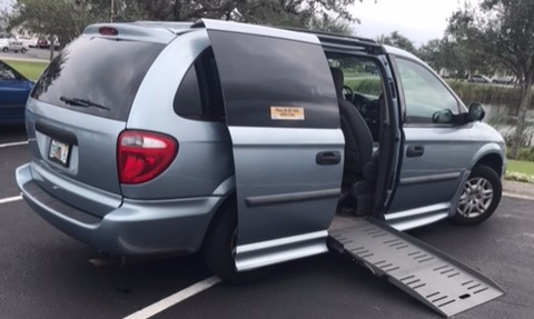 2006 Dodge Grand Caravan Wheelchair Van For Sale