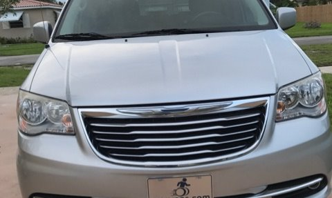 2012 Crysler Town & Country  Wheelchair Van For Sale