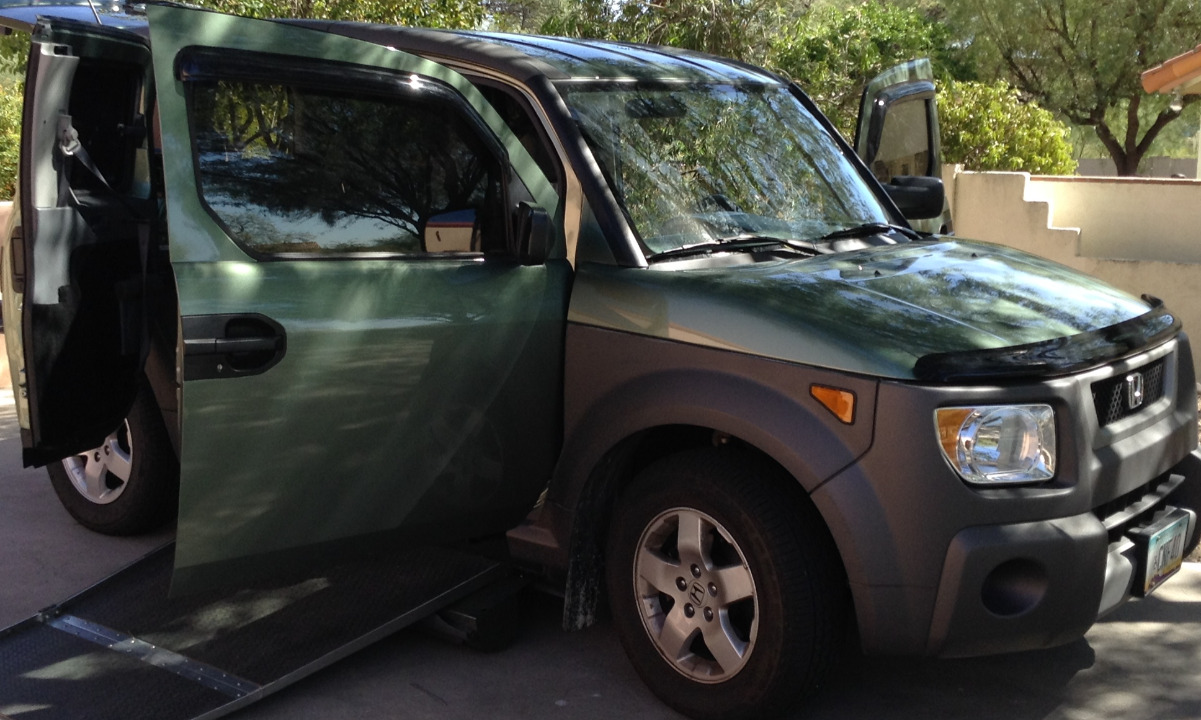 2005 Honda Element Wheelchair Van For Sale