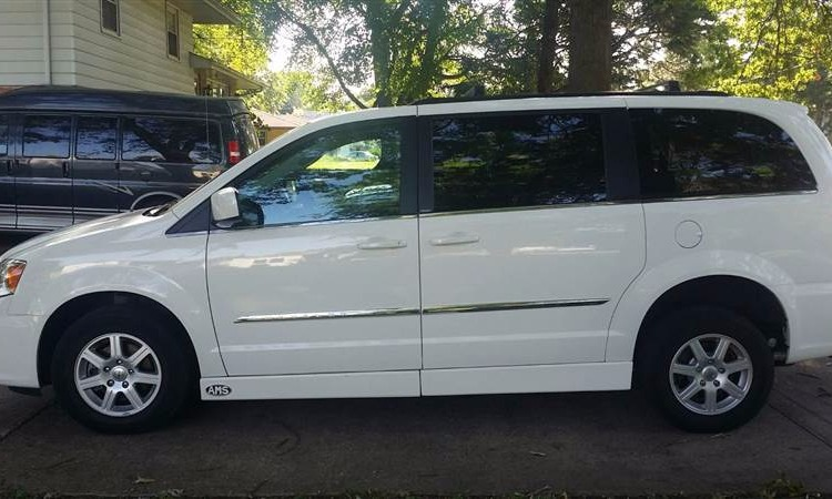 Used 2012 Chrysler Town & Country  Wheelchair Van