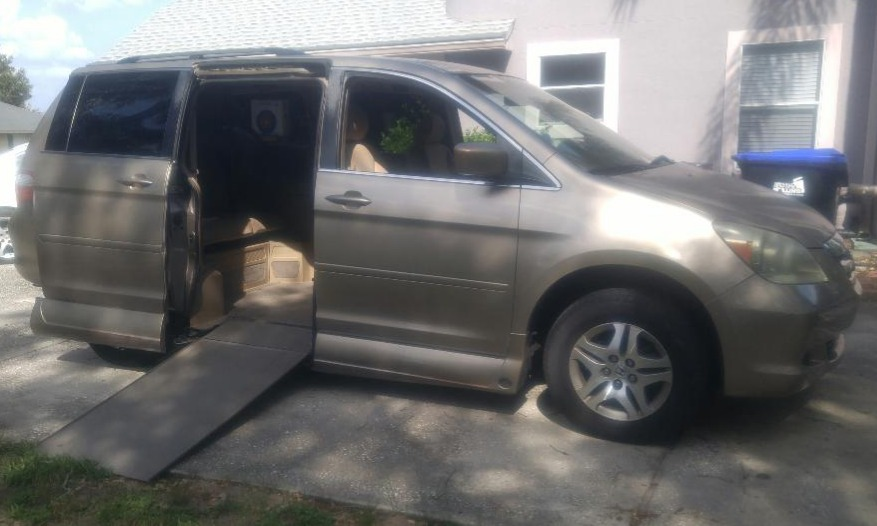 2006 Honda Odyssey Wheelchair Van For Sale