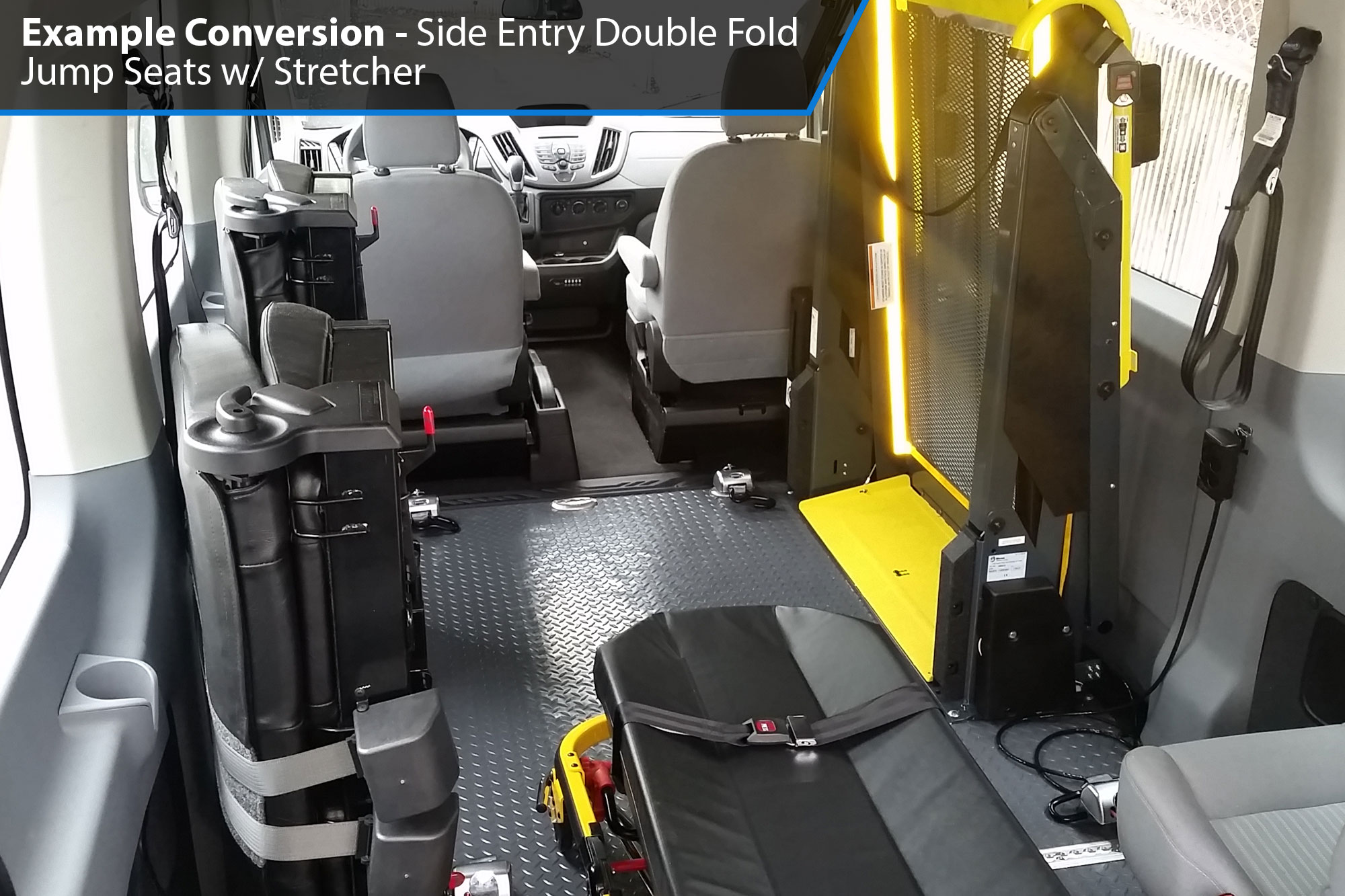 AMS Ford Transit Side Lift Conversion Images -- Thumb #8