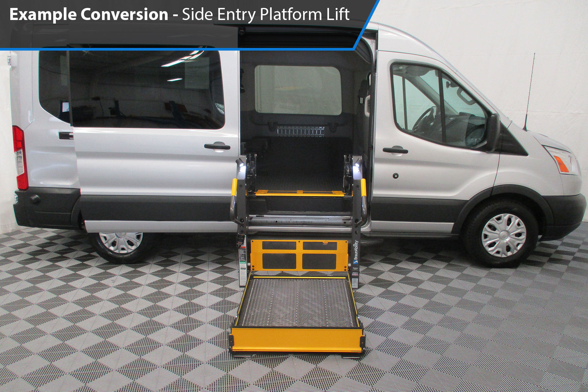 062885588befc8 AMS Ford Transit Side Lift Wheelchair Accessible Van Conversion ...