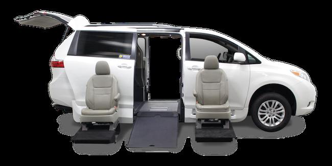 Toyota Sienna Side Entry Wheelchair Conversion