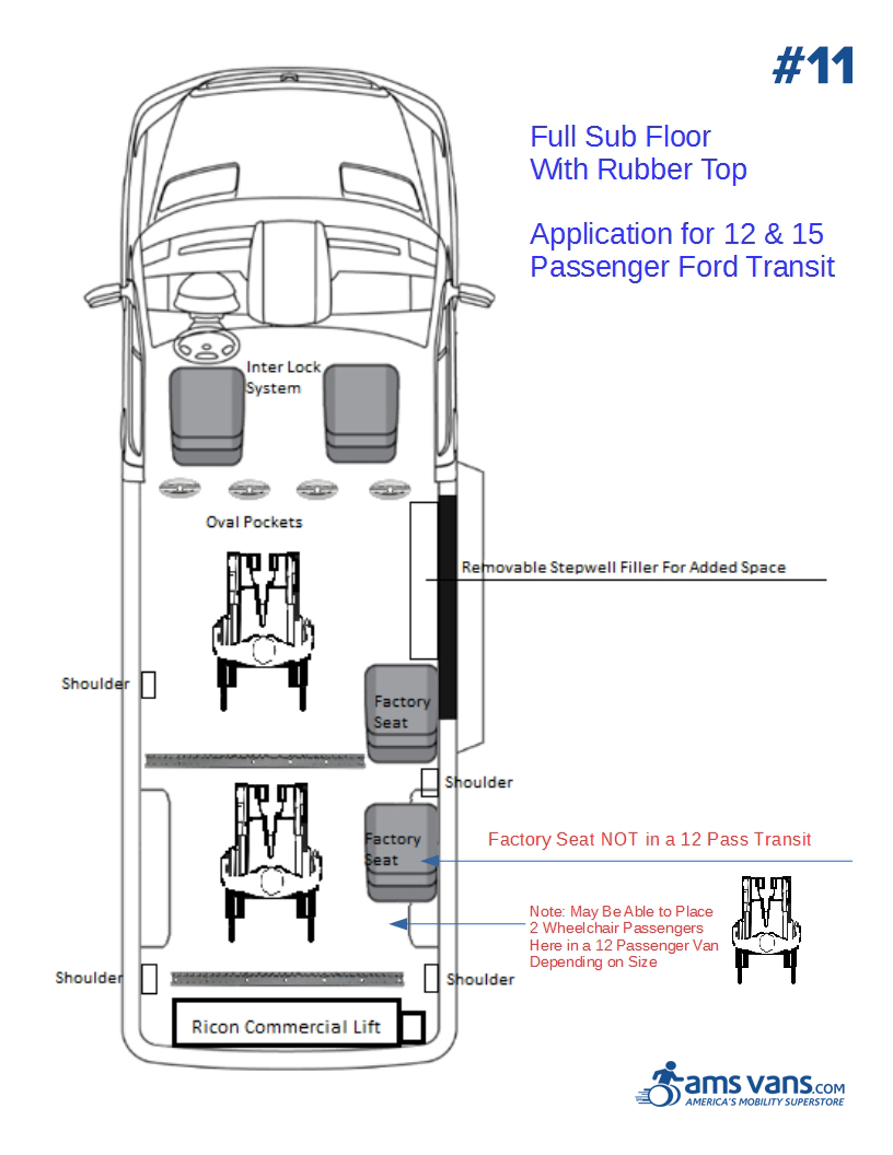 Ford Transit Wheelchair Conversion Type #12
