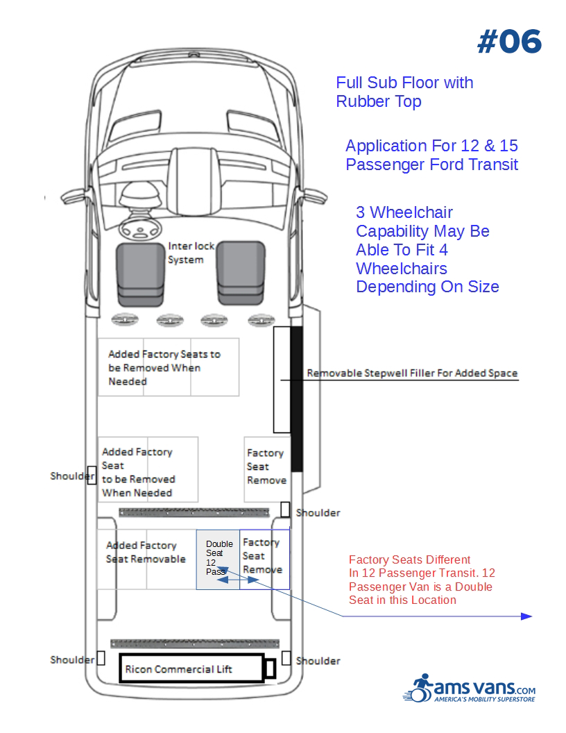 Ford Transit Wheelchair Conversion Type #07