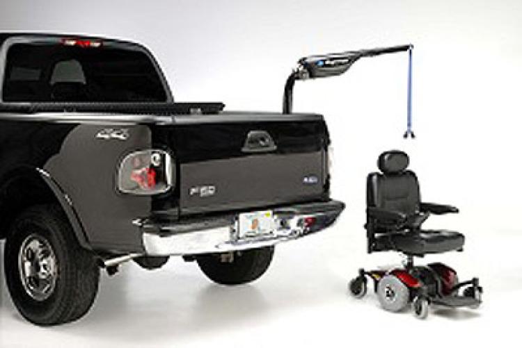 Tractor Wheelchair Lift : Harmar axis inside lift model al wheelchair