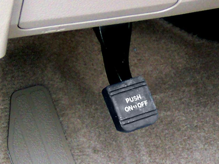 CCI Electronic Parking Brake | Push One Button Parking Brakes | AMS Vans
