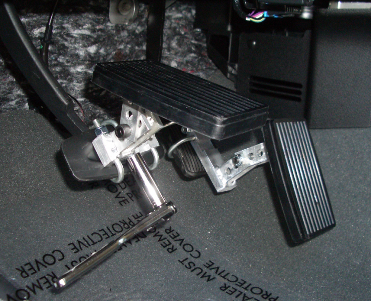 Brake and Gas Foot Pedal Extensions for Disabled Drivers